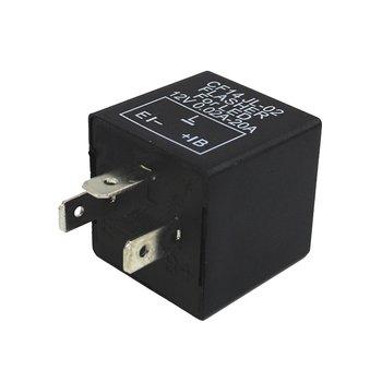Wysokiej jakości regulowany 3 Pin LED elektroniczny przekaźnik migaczy 3 Pin LED samochodowych elektroniczny przekaźnik Flash przekaźnik samochodowy CF14 tanie i dobre opinie CN (pochodzenie) 3 5cmcmcmcmcm 5 2cmcmcmcmcm Metal Plastic Przekaźniki samochodowe 3pin LED Flash Relay 22ggggg 4 2mmmmm