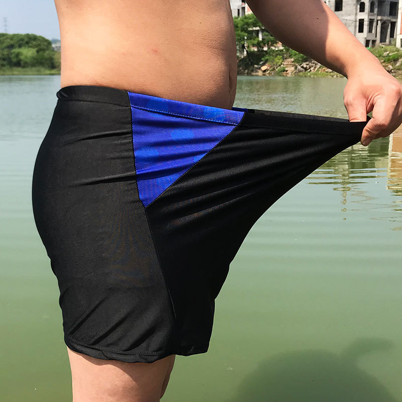 Men AussieBum Comfortable Men's Bathing Suit Chinlon Plus-sized 280 In Loose-Fit Bubble Hot Spring Swimming Trunks