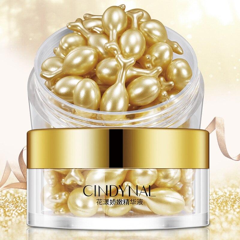 30 Capsules/box Placenta Capsule Serum Cream Moisturizing Shrinking Pores Hydrating Diminishing Fine Lines Face Serum Tslm1 Durable Modeling
