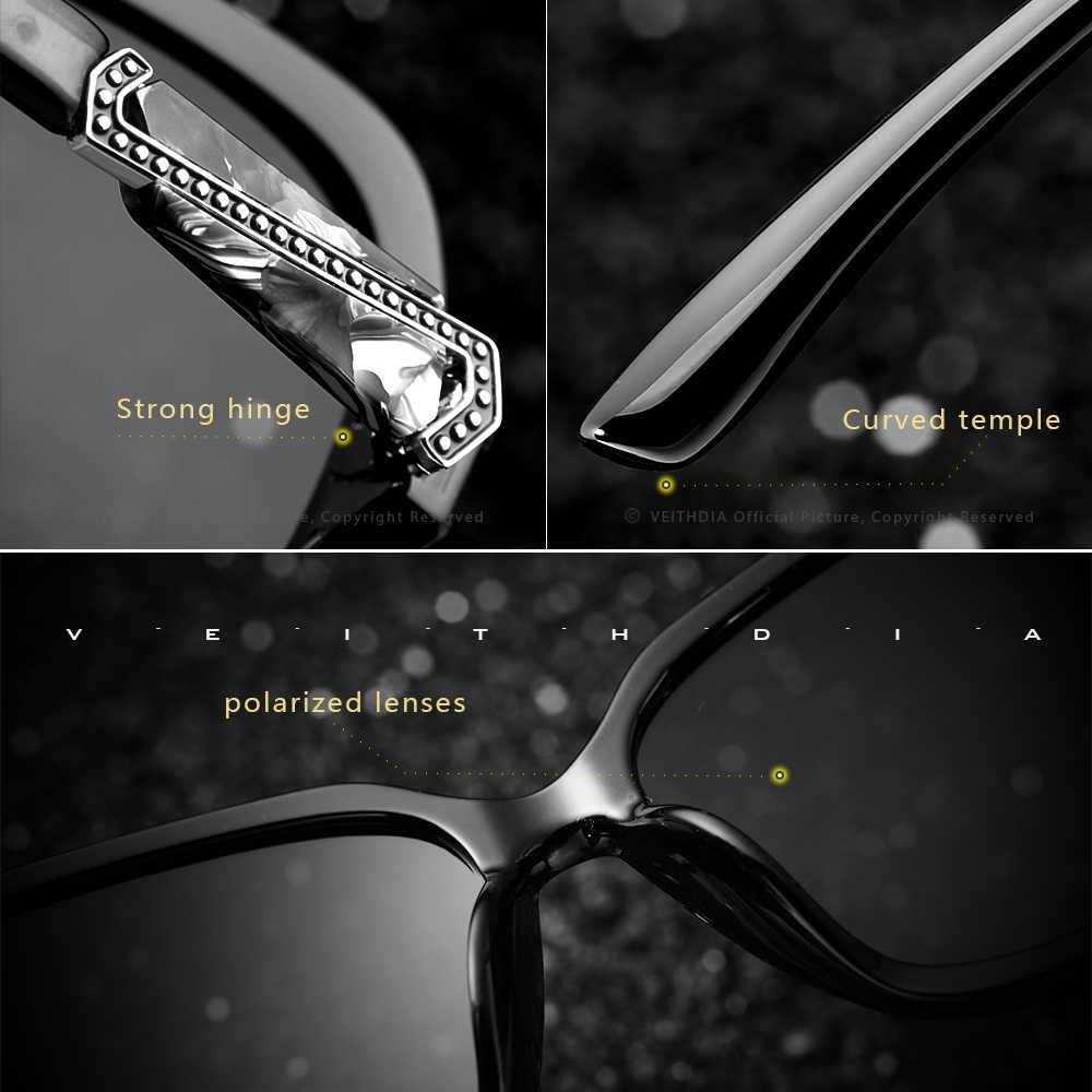 VEITHDIA 2020 แว่นตากันแดดผู้หญิงแว่นตาPolarized UV400 Gradientเลนส์แว่นตาแว่นตากันแดดผู้หญิง 3023