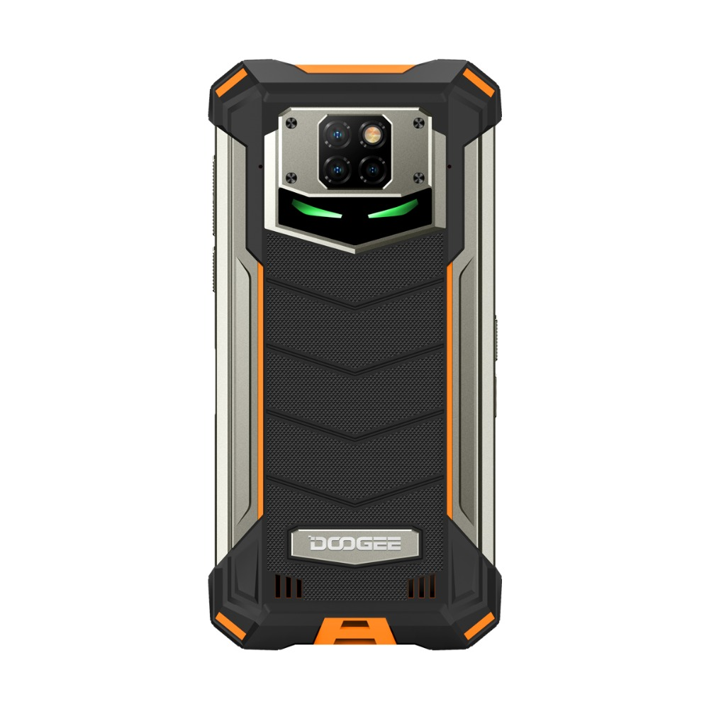 DOOGEE S88 Pro IP68/IP69K Rugged Mobile Phone 10000mAh 6.3'' FHD+ smartphone Helio P70 Octa Core 6GB 128GB Android 10 telephones