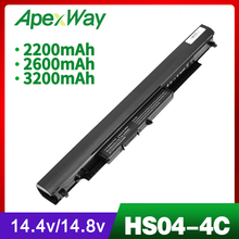 Laptop Battery For HP HS03 HS03031-CL HS04 HS04041-CL HSTNN-LB6U HSTNN-LB6V 256 G4 hstnn lb6v hs04 hstnn lb6u hs03 laptop battery for hp 245 255 240 250 g4 notebook pc for pavilion 14 ac0xx 15 ac0xx