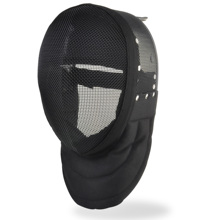 fencing gears, fencing master mask with detachable lining, full black 350NW, fencing equipments and products