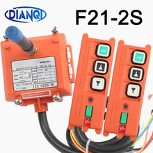 Wireless Industrial Remote Controller Electric Hoist Remote Control Winding Engine Sandblast Switches Used F21-2S Radio switch