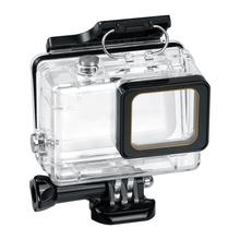 For Gopro 8 7 Waterproof Housing Case Diving 60M Cover Protective Shell Underwater Box For Go pro Hero 8 Black Camera Accessorie