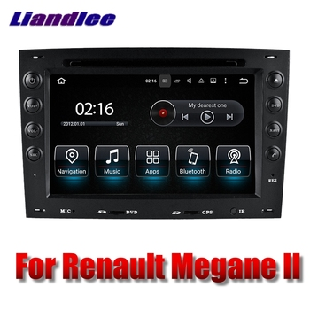 Liandlee Car Multimedia Player NAVI For Renault Megane II 2003~2010 Touch Screen Radio DVD Stereo GPS Navigation image