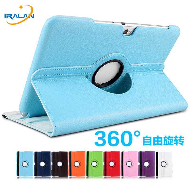 360 Degree Rotating Litchi pattern Folio Stand PU Leather Cover <font><b>Case</b></font> For Samsung Galaxy Note 10.1 <font><b>N8000</b></font> N8010 N8013 N8020+3 in 1 image