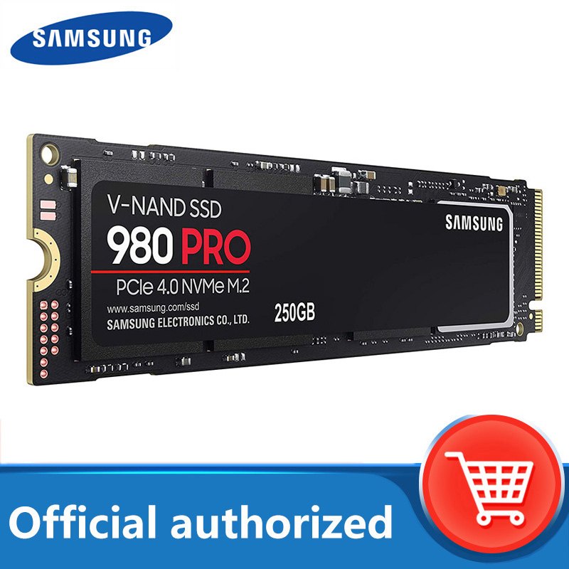 SAMSUNG SSD M2 980 PRO новый продукт твердотельный накопитель 250 ГБ 500 1 ТБ PCIe 4,0 М. 2 NVMe до 6900 МБ/с. для настольного компьютера