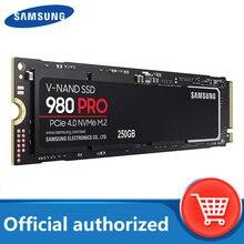 Samsung ssd m2 980 pro novo produto unidade de estado sólido 250gb 500gb 1tb pcie 4.0 m. 2 nvme até 6,900 mb/s para computador de mesa