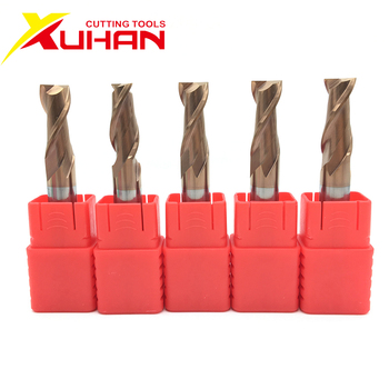 2 flutes HRC55 Carbide end mill keyseat cutter Milling Cutter Alloy Coating Tungsten Steel cutting tool CNC maching Endmills 1 pack 8m r0 5 60l 8d 4 flutes micro grain solid carbide aitin coating cnc end milling cutter hrc 45 flat end mill knife