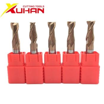 цена на 2 flutes HRC55 Carbide end mill keyseat cutter Milling Cutter Alloy Coating Tungsten Steel cutting tool CNC maching Endmills