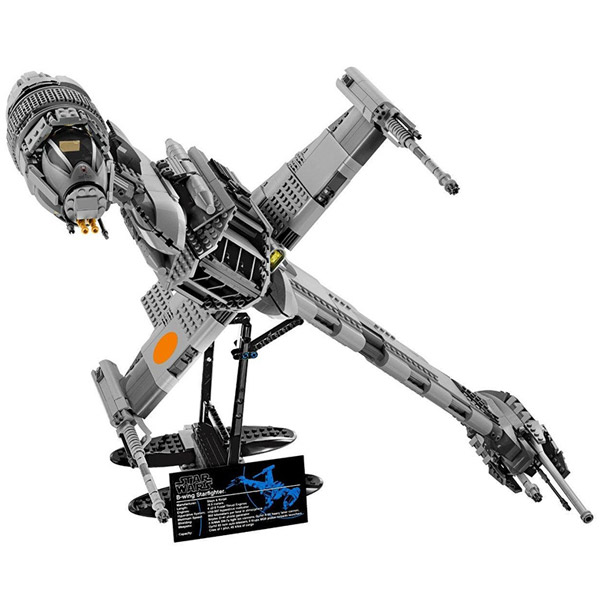 Image 2 - 05045 Star Wars Series The B wing Star Fighter Mobile Building Block 1487Pcs Bricks Toys Gift Star Wars 10227-in Blocks from Toys & Hobbies