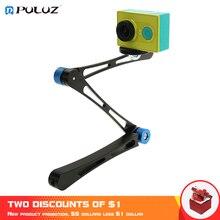 PULUZ Photo Selfie Stick For GoPro Hero6 17 inch Adjustable CNC Aluminum Extension Magic Arm Mount Kit For Go Pro Hero5