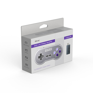 Image 5 - 8Bitdo SN30 2.4G and SF30 2.4G Controller Wireless Gamepad for SNES and SFCfor Windows Android PC Mac