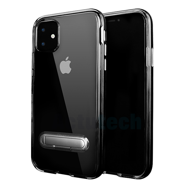 <font><b>Spigen</b></font> Crystal Hybrid Clear Soft Tpu Cell Phone <font><b>Cases</b></font> with PC kickstand for <font><b>iPhone</b></font> 11 Pro Max 2019 X XS XR 8 7 6 6S plus image