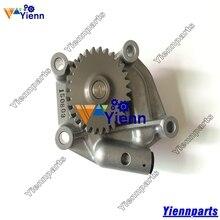 Yanmar 4TNV106 4TNE106 S4D106 오일 펌프 123900 32001 KOMATSU WB93R 2 WB140 WB150 백호 로더 S4D106 엔진 부품