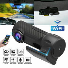 цена на 1080P HD Hidden Car DVR Camera WIFI Rear View Video Recorder Dash Cam for Cars with G-sensor loop parking monitor Car DVRs S700