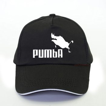 Men women funny homme Pumba Baseball cap Casual letter printing Cartoon dad hat summer adjustable snapback hats