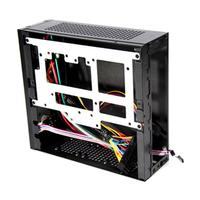E G3 Mini ITX Server Tower 6xCOM Port Embedded SGCC Computer Case PC Chassis High Heat Dissipation for Universal Motherboard