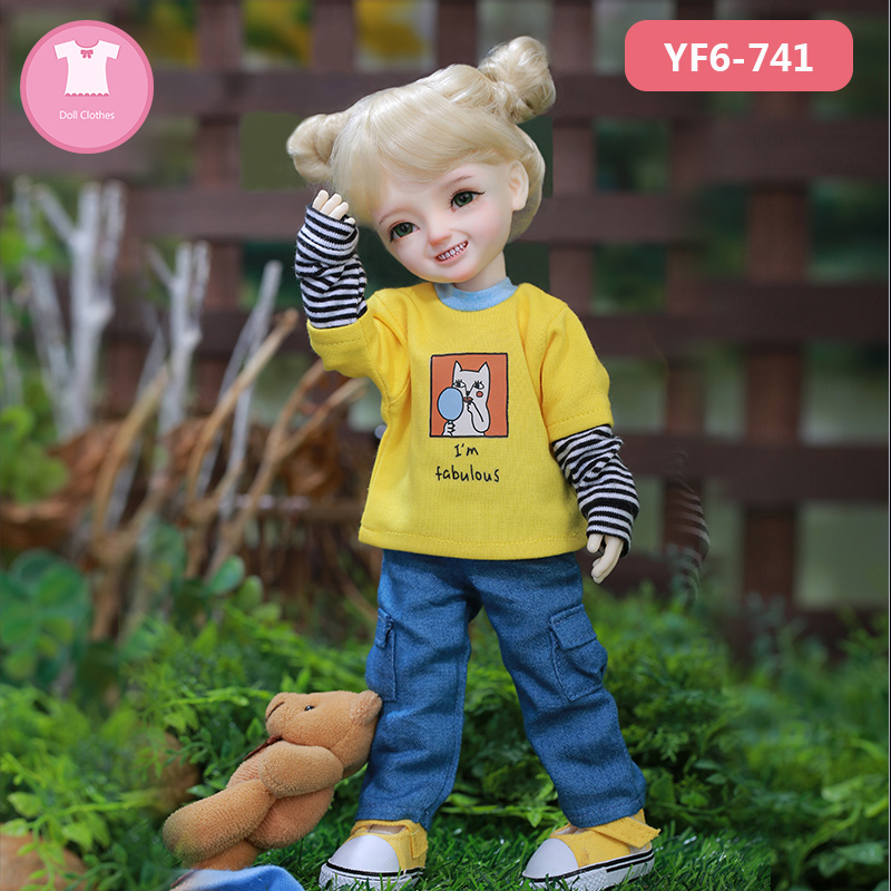 BJD Clothes Kimi  Lemon Dm  Littlefee N9 Body And  Girl Body 1/6 BJD SD Dress Beautiful Doll Outfit Accessories   Luodoll