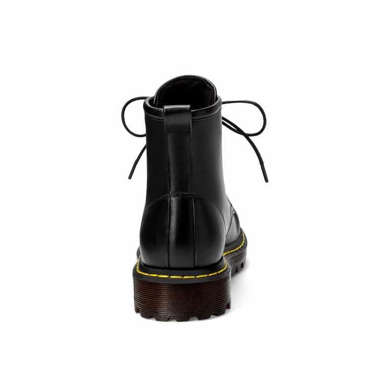 2019 botlar kadın deri ayakkabı kış ayakkabı kadın ayakkabısı rahat kadın yarım çizmeler kadın botları kış sıcak 34-43