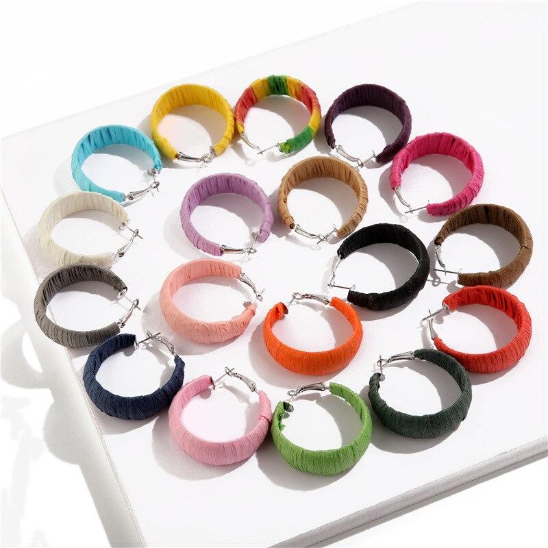 Big CC earrings for women  Statement Fashion Earrings Minimalist Jewelry