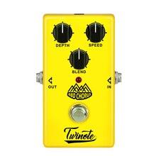 Twinote bbd コーラス音ギターエフェクトペダルトゥルーバイパスアナログコーラス効果ペダル processsor 遅延ギターアクセサリー