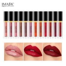 IMAGIC 12Pcs/set matte lip gloss combination liquid set lasting non-marking Chinese style waterproof moisturizing balm