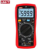 UNI-T handheld digital ac dc ncv tensão atual multímetro hfe resistência diodo verdadeiro rms temperatura tester ut890c ut890d +