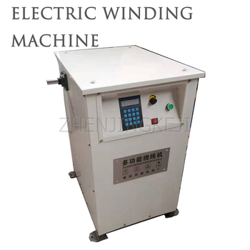 220v automatic cnc programming winding machine Large Electric Winding Machine Transformer Winding Tools Can Go Entanglement 355KW The Following Motor CNC Around Line Equipment