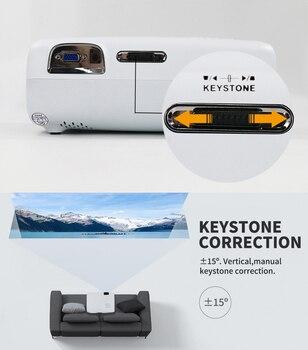 Светодиодный проектор WZATCO E600 4K 3