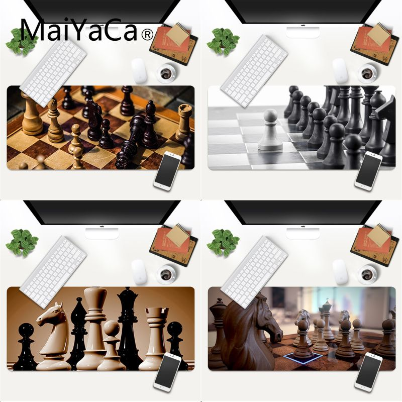 MaiYaCa Your Own Mats Chess mouse pad gamer play mats Gaming Mouse Pad Large Deak Mat 600x300mm for overwatch/cs go