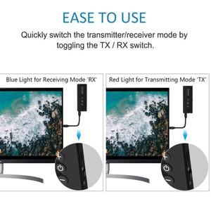 Image 3 - Bluetooth 5.0 nadajnik odbiornik 3.5 3.5mm Aux Jack muzyka Stereo Audio bezprzewodowy Adapter do TV PC zestaw samochodowy z przycisk sterowania