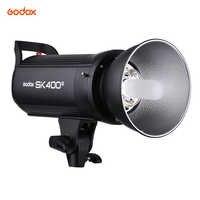 Godox SK400II profesional compacto 400Ws estudio fotográfico Flash estroboscópico luz incorporada Godox 2,4G inalámbrico X sistema GN65 5600K