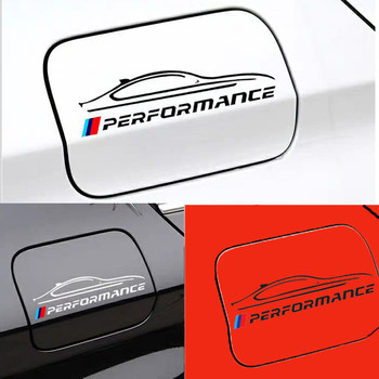 Performance car tank cap sticker for Bmw 1 2 3 4 5 6 7 series X5 X6 E46 E60 E61 E70 E71 E85 E87 E90 E83 F10 F20 F30 F35 M3 M4 M5 image