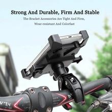 Велосипедный держатель для телефона для Android универсальный мотоцикл велосипед GPS кронштейн для 4,0-6,3 дюймов мобильный телефон Кронштейн Под...