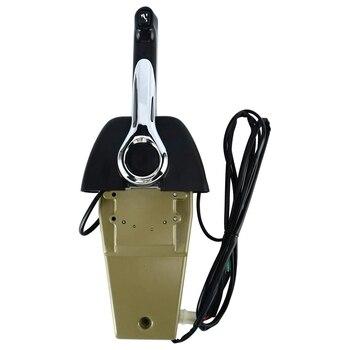 Marine Outboard Engine Binnacle Remote Control Box 704-48205 Premium Single Throttle for Yamaha Outboard Engine 704-48205-P1-00
