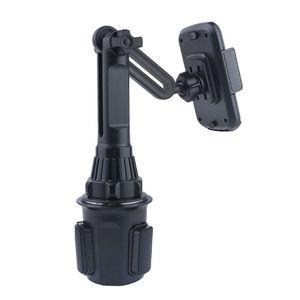 """Image 3 - Araba bardak tutucu telefon dağı ayarlanabilir açı yükseklik standı için 3.5 6.5 """"cep telefonu"""