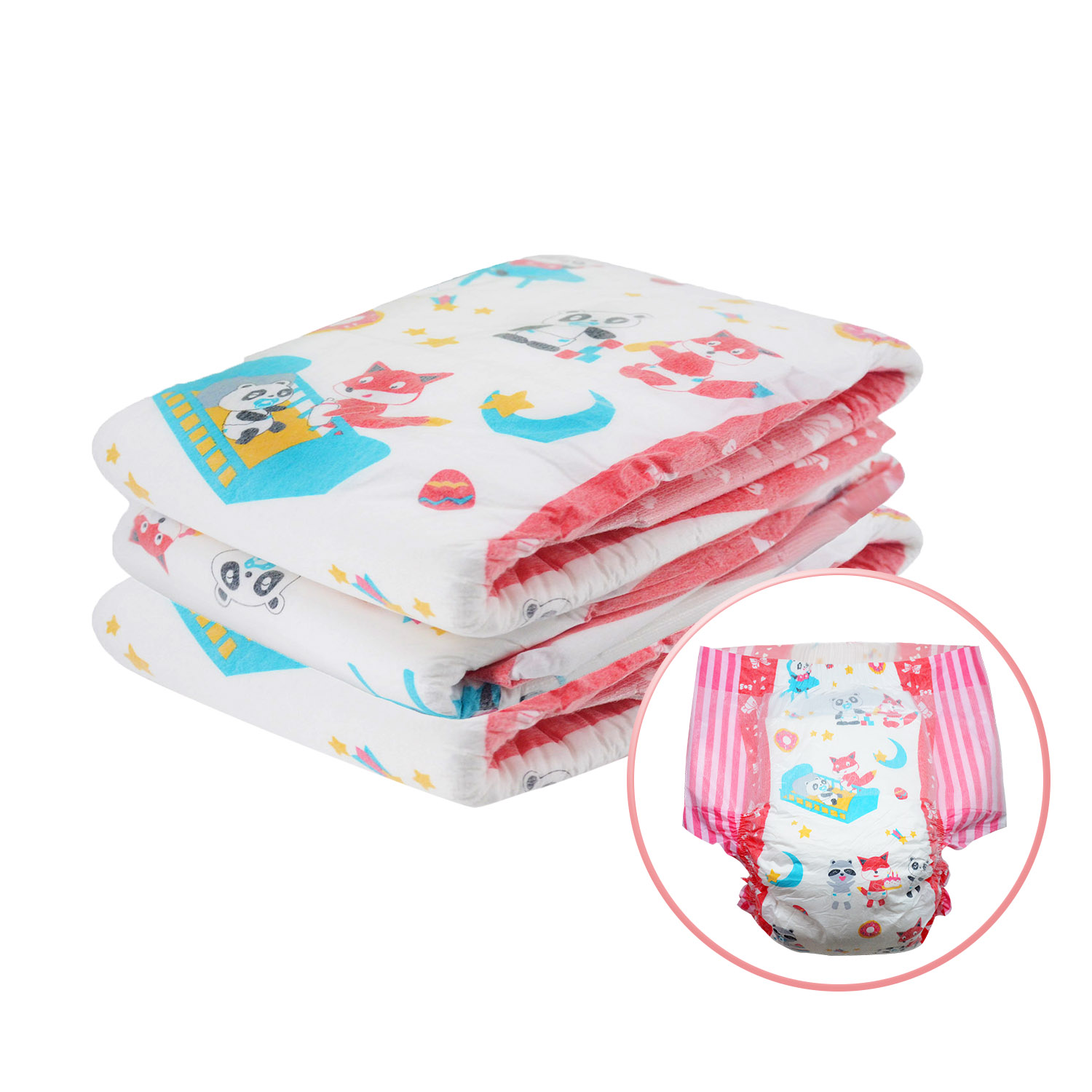 3pcs In A Pack Week Diaper ABDL Extra Large Size Christmas Diaper Stretchy Waist DDLG Diaper Dummy Dom 6000ml Absorbtive