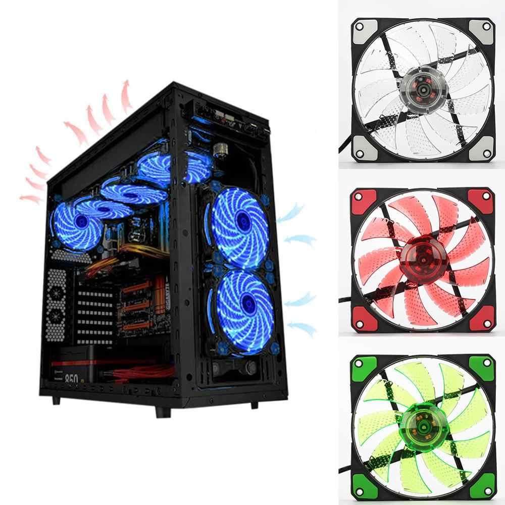 120 Mm PC Komputer 16dB Ultra Silent Fan Heatsink Cooler Cpu Cooler Radiator Kipas Disipasi Panas Radiator Pendingin 3P ide 4pin