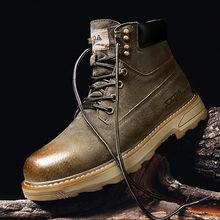 Мужские походные ботинки для улицы Молодежные большого размера