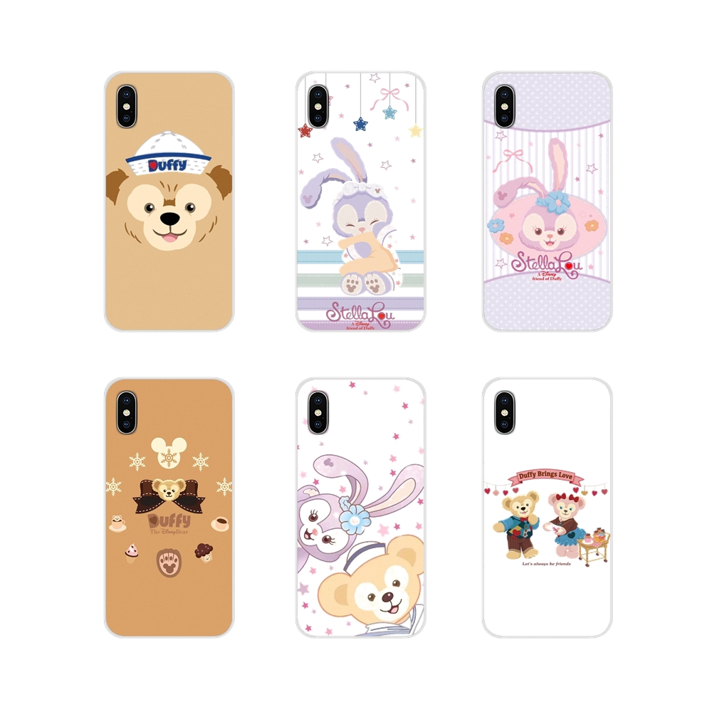 cartoon Duffy friends shelliemay bear Mobile Phone Cover For Samsung A10 A30 A40 A50 A60 A70 Galaxy S2 Note 2 3 Grand Core Prime image