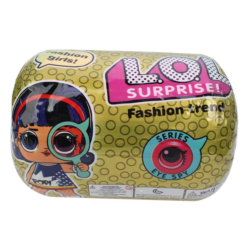lol dolls Surprise Beautiful Doll 5 Generation DIY Manual Blind Box Fashion Model Doll Toy Gift girl toys