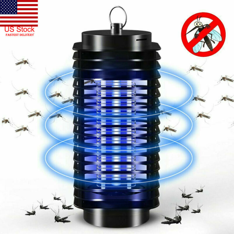US Electric UV Mosquito Killer Lamp Outdoor / Indoor Fly Bug Insect Zapper Trap