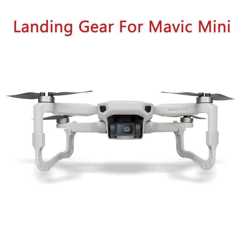Landing Gear Leg For DJI Mavic Mini Skid Heightened Shock-absorbing Stabilizers Leg For For DJI Mavic Mini Accessories