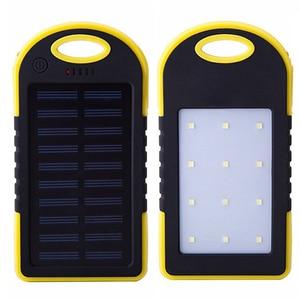 Image 5 - Năng Lượng Mặt Trời 10000 MAh Power Bank Chống Thấm Nước Năng Lượng Mặt Trời Sạc Dual USB Bên Ngoài Sạc Dự Phòng Powerbank Cho Xiaomi Huawei Iphone 7 8 Samsung