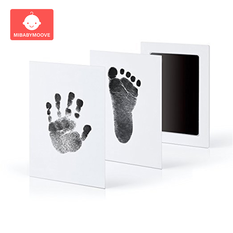 Baby Handprint Footprint Imprint Kit Non-Toxic Newborn Souvenirs Casting Footprint Ink Pad Infant Footprint Ink Pad Baby Toys