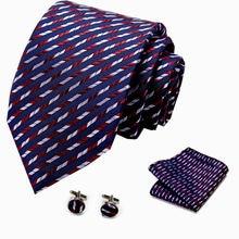 Модное Шелковое Розовое нарядное платье мужских галстуков Цветочный