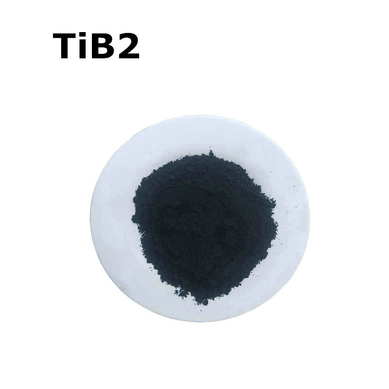 TiB2 Titanium Boride High Purity Powder 99.9% For R&D Ultrafine Nano Powders About 1 Micro Meter Powder