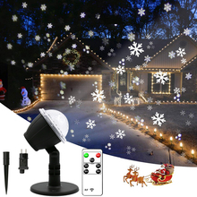 Christmas Projector Lights Holiday Lights with RF Control Moving Patterns Timer Waterproof Decorative Lights for Xmas Parties